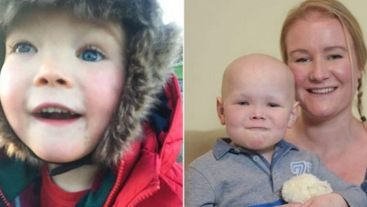 Gloucestershire based boy's Watery eyes reveal rare form of cancer post diagnosis