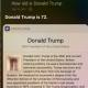 Siri's latest glitch shows Donald Trump's age as a penis