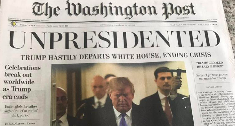 Donald Trump Resignation Washington Post